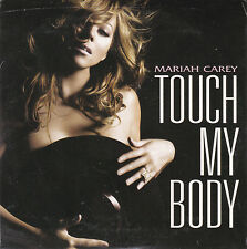 CD CARTONNE CARDSLEEVE MARIAH CAREY TOUCH MY BODY 2T DE 2008 NEUF SCELLE