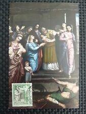 Spain MK 1962 Madonna Maria maximum carta carte MAXIMUM CARD MC cm c1657