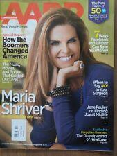 AARP Magazine Dec 2013/Jan 2014 Maria Shriver Boomers Facebook Jane Pauley