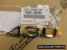 "Lexus LS430 (2001-2006) OEM Genuine REAR Trunk ""430"" LOGO EMBLEM"