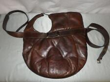"""*Antique Victorian leather side saddle """"maid"""" - For Grooms to ride astride*"""