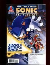 SONIC THE HEDGEHOG TWO STEP BACK FCBD EDITION(5.5)(FN-)ARCHIE COMICS-SEGA(b051)