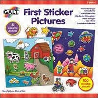 Galt FIRST STICKER PICTURES Kids Activity Toy BN