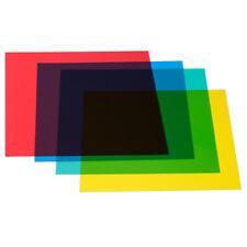 """Neewer 12""""x 12"""" Color Correction Gels Set 4-Color Gel Filter Film Plastic Sheet"""