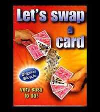 Let's Swap a Card - Bicycle Card Packet Magic Trick - An Impossible Prediction!