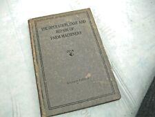 VINTAGE JOHN DEERE; OPERATION, CARE, & REPAIR OF FARM MACHINERY, SEVENTH EDITION