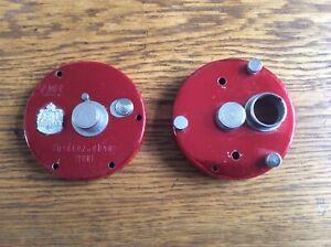 Abu 7000 Vintage Red Sideplates