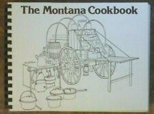 THE MONTANA COOKBOOK 1976 Harvey 15 Prints by Montana Artists SPIRAL 650 Recipes