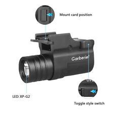 Military Police 15000Lumens Tactical Gun LED Light Pistol Flashlight Rail Mount