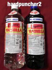 1 Clear 1 Dark Danncy Mexican Vanilla  (Plastic 1 Liter)