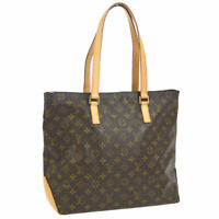 LOUIS VUITTON CABAS MEZZO SHOULDER TOTE BAG PURSE MONOGRAM M51151 AK38140b