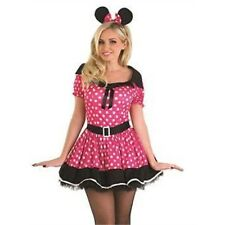 Missy Mouse - Pink - Adult Fancy Dress Costume - XL - 20-22