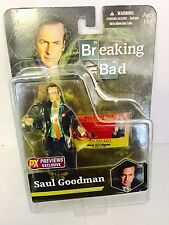 "Breaking Bad Saul Goodman 6"" Inch Action Figure-chemise Verte PX Previews Mezco"