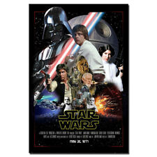 STAR WARS Classic Movie Poster Canvas Paintings Wall Art Picture 24X36inch