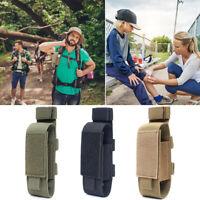 Tourniquet Bag Nylon Flashlight Holster Scissor Molle Pouch for Outdoor Medical