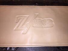 Vintage Original Camaro Z28 Automobile Fender Cover May Accessory Chevrolet