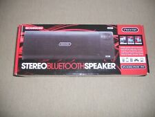 PORTABLE! Sentry Stereo Bluetooth Speaker SPBT1 Rechargeable Tablet iPhone NIB