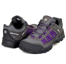 Salomon Keystone CS WP Damen Outdoor Schuhe Trekking Shoe Women wasserdicht grau