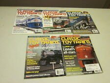 Lot of 5 Classic Toy Trains Magazines 2003 JAN, FEB, MAR, MAY, JULY
