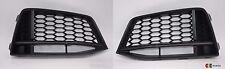 NUOVE Originali Audi TT 15-17 S-LINE PARAURTI ANTERIORE INFERIORE SINISTRO N/S O/S Destro Grill Set
