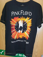 MENS AMPLIFIED PINK FLOYD Vintage Black FITTED SWAROVSKI CRYSTALS T SHIRT SIZE L