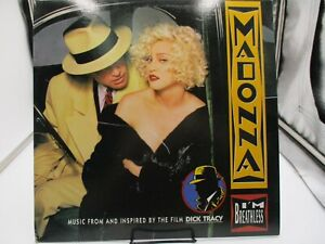 "MADONNA ""I'M BREATHLESS"" LP 1990 Sire/Warner Bros. 9 26209-1 VG++ c VG+"