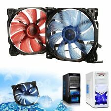 3-Pin/4-Pin 120mm PWM PC Computer Case CPU Cooler Cooling Fan with LED