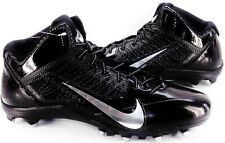 NIKE Alpha Pro Fly-Wire Mid 3/4 TD Football Cleats Black Men's US 13.5 NEW