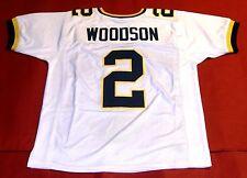 Charles Woodson Custom Michigan Wolverines W Sh Jersey Heisman