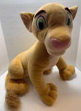 "The Lion King Nala Jumbo Plush 20"" Disney Hasbro 2002"