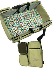 3 in 1 Diaper Bag - Travel Bassinet - Change Station - (Scratch and Dent)