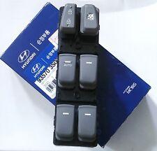 Hyundai Sonata 2011-2012 2014 Power Window Master Switch  LH (Driver Side) Grey