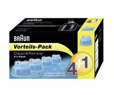 Braun Clean & Renew CCR 4+1 Reinigungskartusche - 5er Pack (658016)