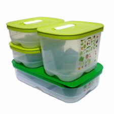 Tupperware NEW Ventsmart 4 piece Set Medium Shallow Small Deep Small Shallow x 2
