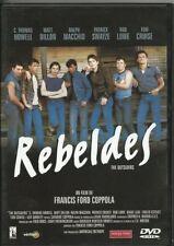 !!! REBELDES !!! NUEVA PRECINTADA *** DVD EDICION ESPAÑOLA DESCATALOGADA ****