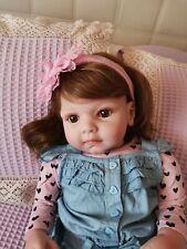 Reborn baby doll by bonnie brown