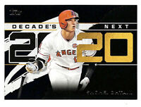 2020 Topps Shohei Ohtani Decade's Next 115/299 BLACK parallel card Angels