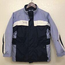 COLUMBIA Girls Jacket Winter Coat Purple Blue Size 10/12