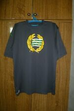 Hammarby IF Kappa Training Football Shirt Big Logo Gray Jersey Men Size 2XL XXL