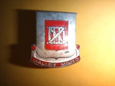 US Army Unit Crest 62nd ENGINEER BATTALION Distinctive Unit Insignia Made In USA