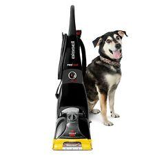 Full-Size Carpet Cleaner Washer Shampooer Vacuum Upright W/Power Brush Black