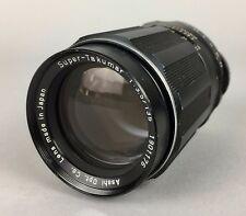 ASAHI PENTAX SUPER-TAKUMAR 135mm 1:3.5 PHOTO CAMERA LENS No. 1901176