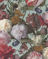 Eijffinger Masterpiece 358003 / Tapete Floral Edel Türkis 358003 / 8,99 €/qm