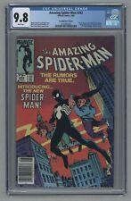 Amazing Spider-Man 252 Canadian Price Variant 1st Black Costume 1984 - CGC 9.8