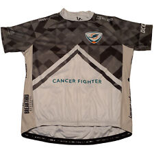 Primal Miami Dolphins Cancer Challenge Full Zip Cycling Jersey Size 3XL #88