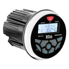 BOSS AUDIO MGR350B MARINE GAUGE STYLE RADIO - MP3/CD/AM/FM/RDS RECEIVER