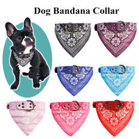 Cute Adjustable Dog Bandana Collar Puppy Cat Pet Neckerchief Neck Scarf Tie-AW