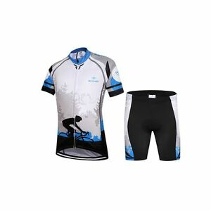 Children Ropa Ciclismo Riding Summer Cycling Jersey & Short Bike Bicycle Suit