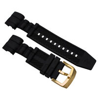 Rubber Replacement Watch Strap Band For Invicta Reserve Jason Taylor Bolt