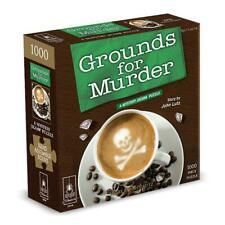 Grounds for Murder 1000pc Mystery Jigsaw Puzzle